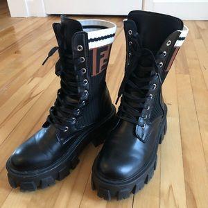 Shoes - Platform combat boots